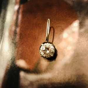 """Silpada Jewelry - SINGLE Silpada CZ """"Center Stage"""" Earring"""